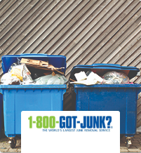 1-800-Got-Junk The Worlds largest junk removal service